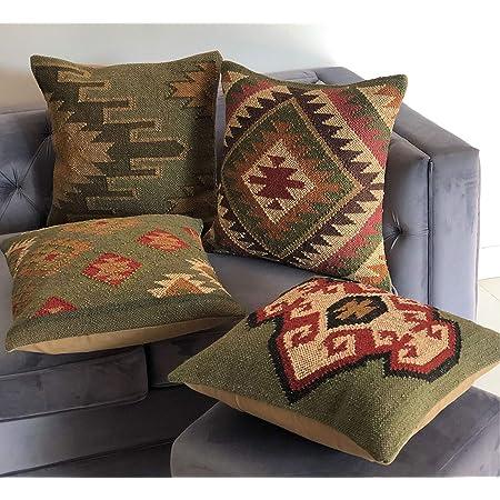 kilim pillow embroidered kilim pillow handmade kilim pillow oriental pillow 18x18anatolian kilim pillow homedecor kilim pillow No 3392