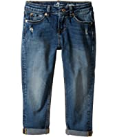 7 For All Mankind Kids - Josefina Boyfriend Jeans in Icelandic Blue (Little Kids)
