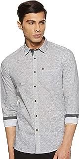 Arrow Jeans Men's Printed Slim Fit Casual Shirt