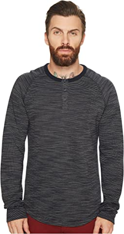 Long Sleeve French Rib Henley