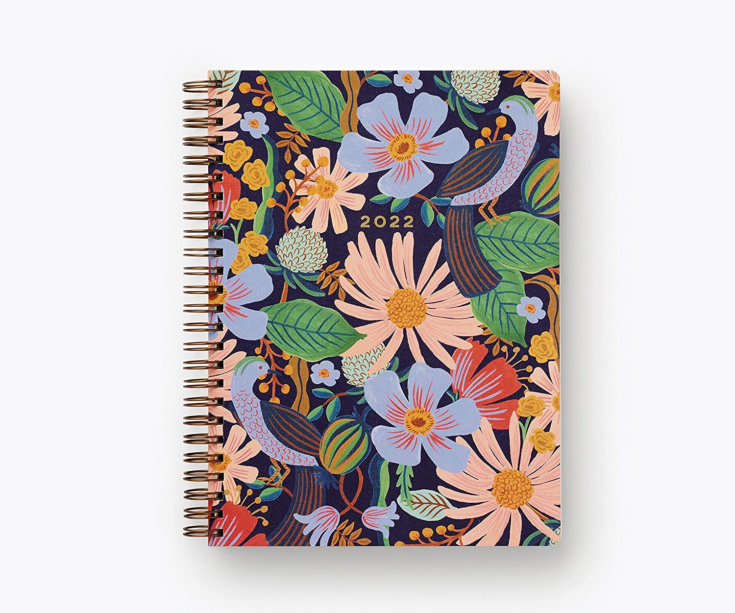 Rifle Paper Same day shipping Co. Dovecote 2022 Max 88% OFF 12-Month Planner Spiral Softcover