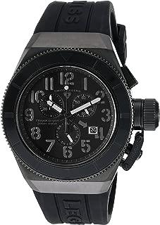 Swiss Legend Men's 'Trimix Diver' Swiss Quartz Stainless Steel Casual Watch (Model: 13844-BLK)