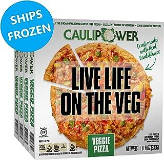 CAULIPOWER Veggie Cauliflower Crust Pizzas, Gluten Free, Non-Gmo, Lower Carb (4 Pack)