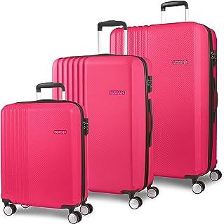 American Tourister Beachrider Bagage- Ensemble de Bagage, Einheitsgröße, Pink