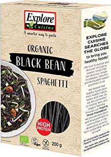 Explore Cuisine - Spaghetti aus schwarzen Bohnen, BIO, vegan, glutenfrei, 200g