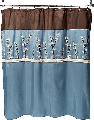 69 by 70-Inch Kess InHouse Alyzen Moonshadow Discover 5 Blue Green Shower Curtain
