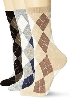 ECCO Women's Argyle Crew Socks