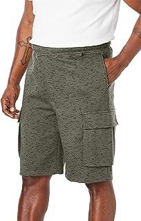 "KingSize Men's Big & Tall Fleece 10"" Cargo Shorts"