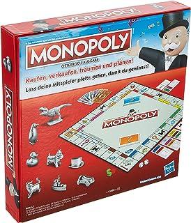Hasbro Gaming C1009156 Monopoly Classic Austrian Version Family Game