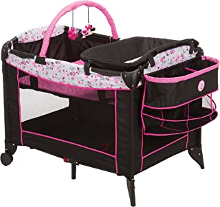 minnie mouse playpen with bassinet