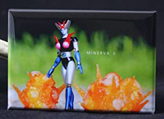 Minerva X Toy Photography Refrigerator Magnet.