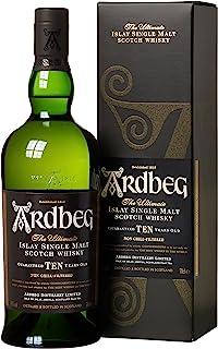 Whisky Ardbeg Islay Single Malt 10 Jahre in Geschenkverpackung 1 x 0.7 l