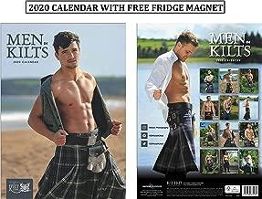 scottish men in kilts calendar