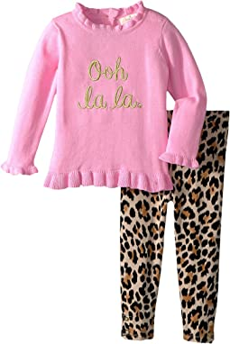 Kate Spade New York Kids - Ooh La La Leggings Set (Infant)