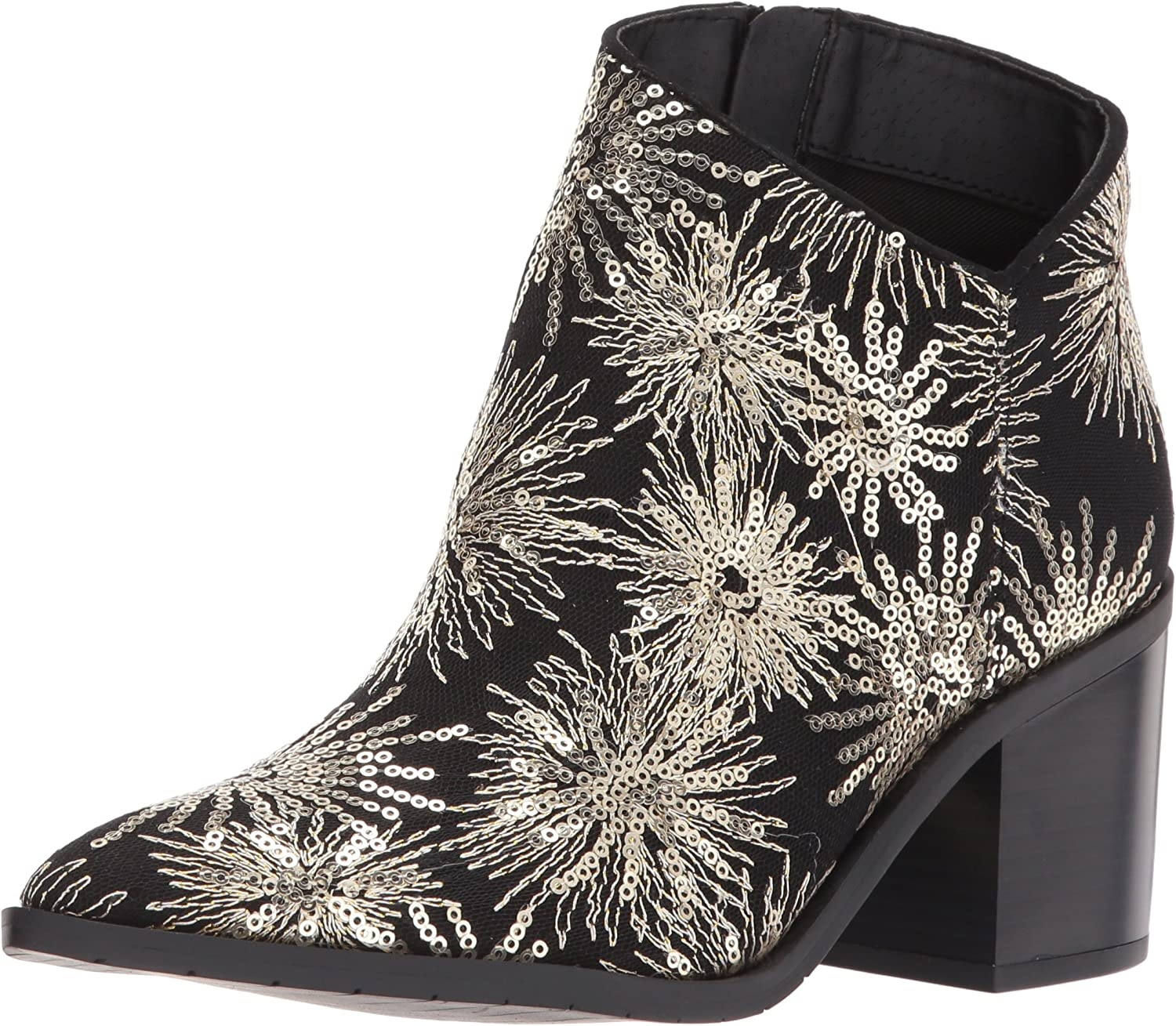 Kenneth Cole REACTION Damen Cue The Music Stiefelie Ankle Notch Western Style Stars