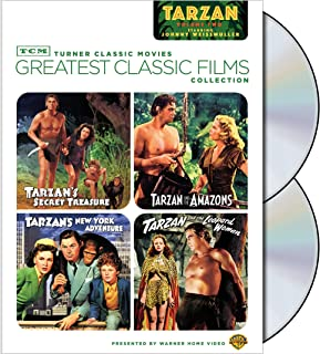 TCM Greatest Classic Films Collection: Tarzan, Volume 2 (Tarzan's Secret Treasure / Tarzan and the Amazons / Tarzan's New York Adventure / Tarzan and the Leopard Woman)