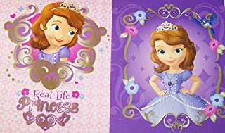 Innovative Design 101 Disney Sofia The First Folder 2 Pack ~ Real Life Princess, Princess from Within