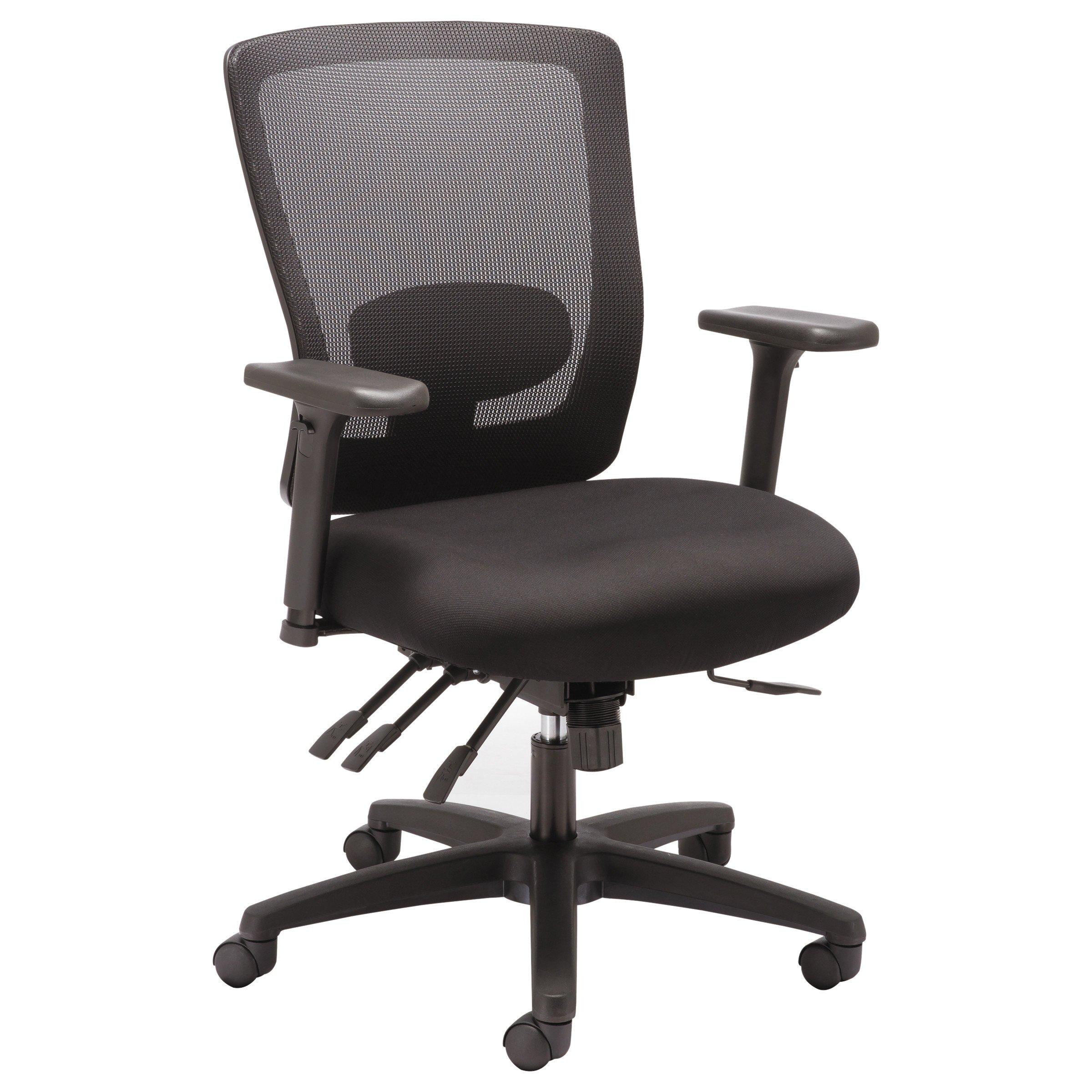 Alera ALENV42M14 Mid Back Multifunction Chair