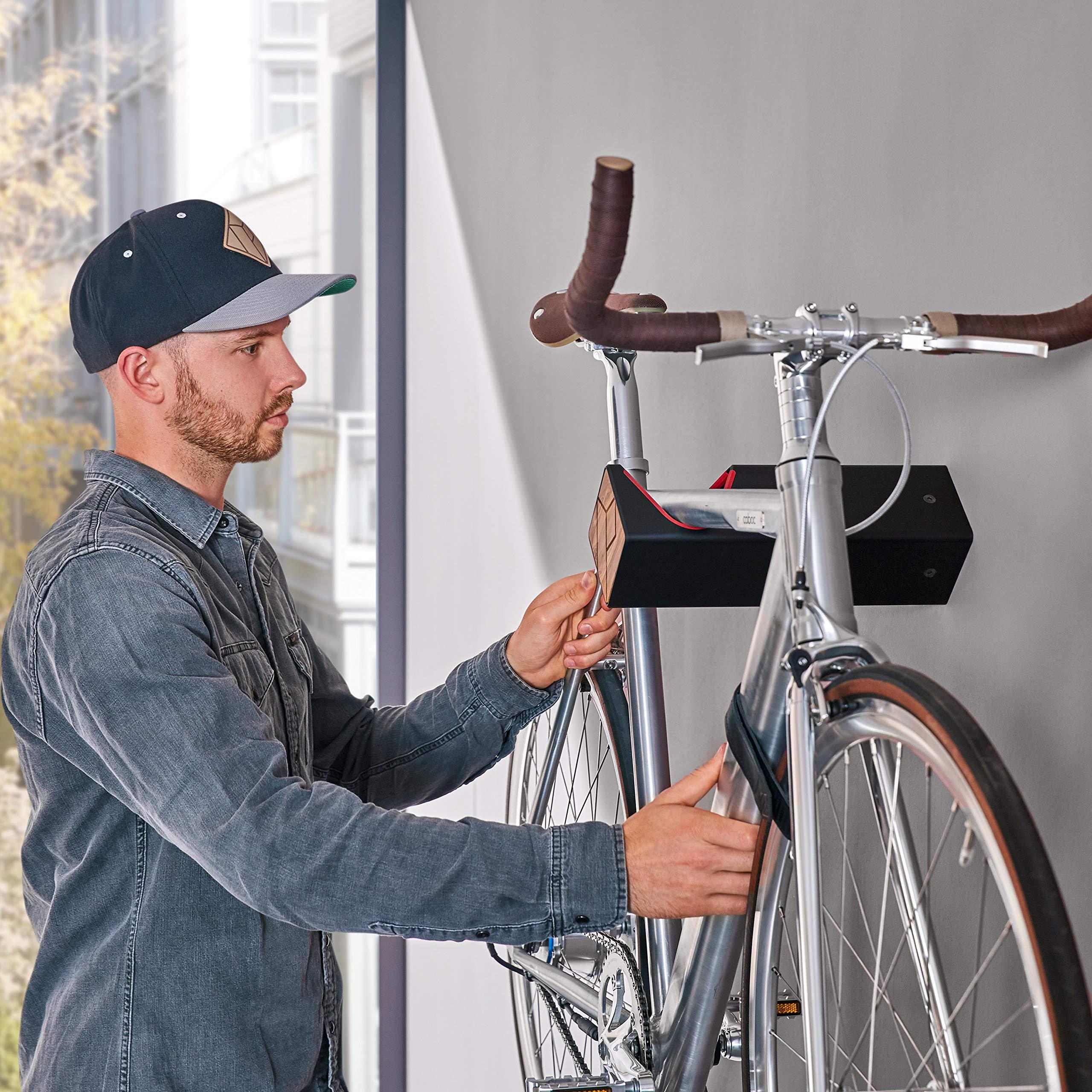 Parax D-Rack Support mural pour vélo Plusieurs designs et ...