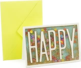 Hallmark Signature Birthday Card (Happy Glitter Confetti)
