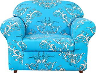Best subrtex 2-Piece Durable Soft High Stretch Printed Slipcovers Washable Furniture Protector for Sofa Couch Home Decor Review