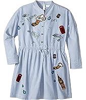 Burberry Kids - Detailed Shirtdress (Little Kids/Big Kids)