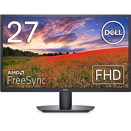 【Amazon.co.jp限定】Dell SE2722H 27インチ モニター (3年間交換保証/フルHD/VA非光沢/HDMI,D-Sub15ピン/傾き調整/AMD FreeSync™)