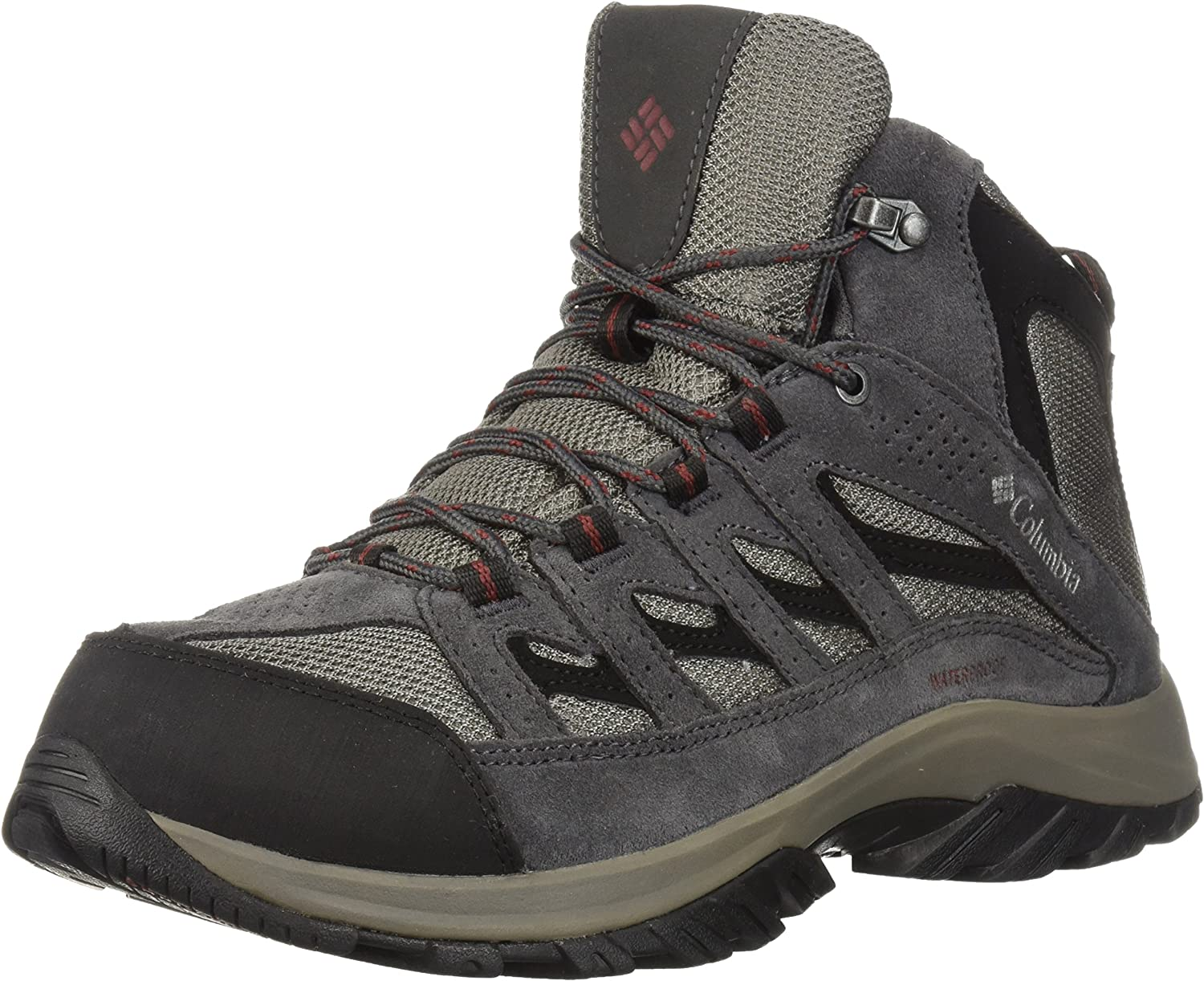 Columbia Mens Men's CrestwoodTM Mid Waterproof Hiking Boot