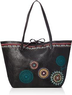 BOLS SIARA CAPRI Bolso shopping mujeres Negro Bolso shopping