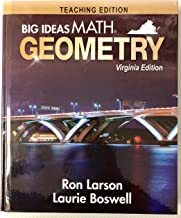 Big Ideas Math, Geometry Teaching ed, Virginia ed.