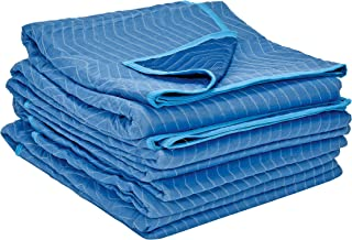 Vestil QPC-7280-UP-4PK All Weather Quilted Polyester Moving Pads, 80