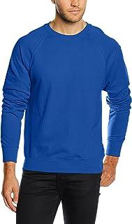 Fruit of the Loom Men Raglan Lightweight Sweater