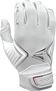 EASTON GHOST Fastpitch Softball Batting Glove Series | Pair | Womens Sizing | 2020 | Premium Smooth Leather Palm | Flexible Lycra & Silicon Print Structure Looks |Flexible Molded Strap Neoprene Band