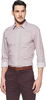 Arrow Newyork Men's Printed Slim Fit Formal Shirt