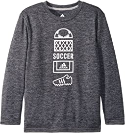 Long Sleeve Vertical Collage Tee (Toddler/Little Kids)