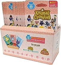 $99 » Animal Crossing Amiibo Cards Series 4 – Full box (18 Packs) (6 Cards Per Pack/108 Cards) …