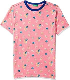 United Colors of Benetton Boy's tie-dye Regular fit T-Shirt