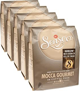 Senseo Mocca Gourmet, New Design, Pack of 5, 5 x 36 Coffee Pods