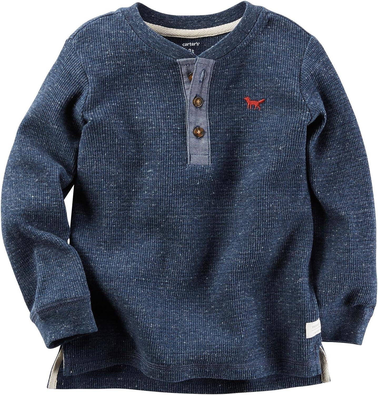 Carter's Boys' Knit Polo Henley 263g561