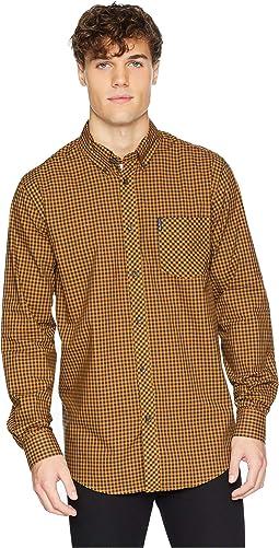 Long Sleeve Classic Gingham Shirt
