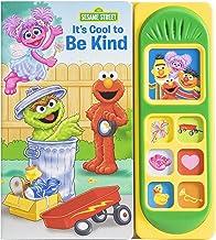 Sesame Street Elmo, Abby Cadabby, Zoe, and More! - It's Cool to Be Kind Sound Book - PI Kids (Play-A-Sound)