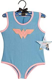 My Super Best Friends Wonder Woman Leotard With Puff Hanger