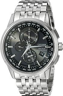 CITIZEN ECO DRIVE - Citizen AT8110-53E - Cronógrafo solar con fecha, cristal