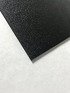 ABS Black Plastic Sheet 1/8