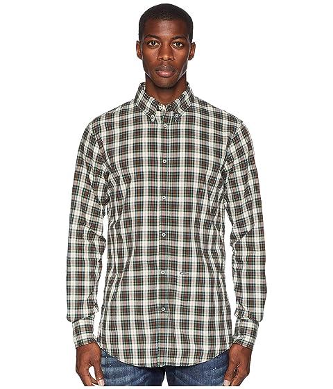 DSQUARED2 Cotton Check Button Down Shirt