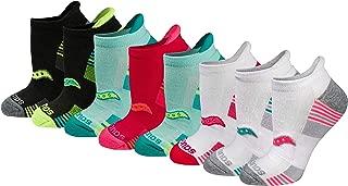 Saucony womens S82004 Performance No-show Sport Socks Running Socks