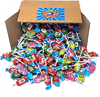 Christmas Candy Jolly Rancher Assorted Fruit Flavored Lollipops Candy, Original Long Lasting Pops Cherry, Watermelon, Green Apple, Pink Lemonade Flavors, Bulk Pack, 2 Lbs