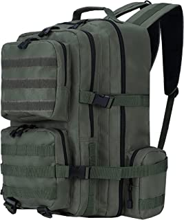 کوله پشتی Widfre Military Tactical Backpack Army 3 Day Assault Pack Molle Bag کوله پشتی کمپینگ (سبز)