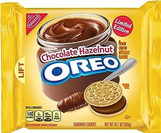 Oreo Chocolate Hazelnut Creme Sandwich Cookies, 10.7 Ounce