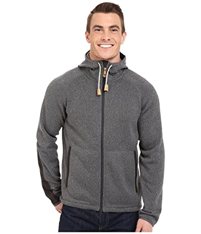 Fjallraven Ovik Fleece Hoodie (Dark Grey) Men